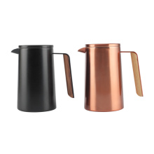 French Press a doppia parete con manico speciale