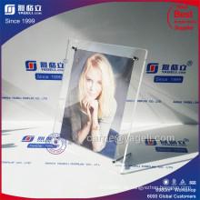 High Clear Magnet Acryl Zertifikat Rahmen