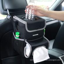 Car mesh organizer waterproof lining multifunctional car seat organizer factory supply