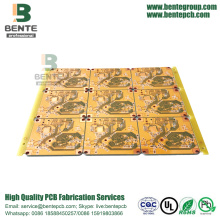 4Layers PCB FR4 Tg150 High-precision Multilayer PCB Geel