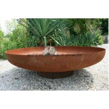 Rust Big Steel Fire Pit Bowl / Patio de acero Patio de Fuego