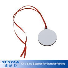 3mm MDF Christmas Tree Ornament Two-Sided Printing Hanging Christmas Decoration