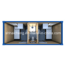 Container Dormitory with Toilet and Shower Cabin for Two People (shs-fp-dormitory017)