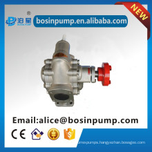 Electric motor oil extractor pump gear pump with big flow transfer