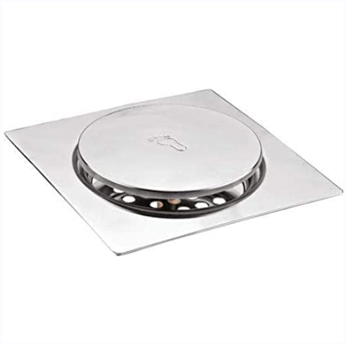 Square Bathroom Fitting Floor Drain With Cover