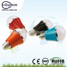 Vente chaude e27 led ampoule coque en plastique
