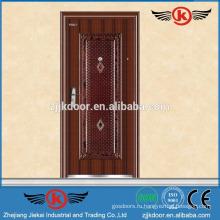 JK-S9023 стальной гараж безопасности двери вход дизайн
