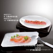 Plats à dîner au restaurant en gros de haute qualité avec un excellent prix
