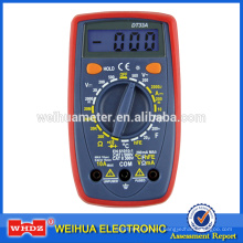 Multímetro digital DT33A con función de capacitancia