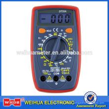 Multímetro digital DT33A com função de capacitância