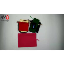 Multifunctional high quality jewelry linen gift packaging bags