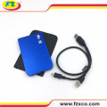 2.5 pulgadas USB2.0 SATA External Laptop HDD Recinto