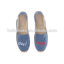 Cheap Women Espadrille Shoe Embroidered Espadrilles for Lady