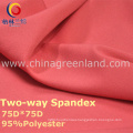 190t Polyester Spandex Dyeing Fabric for Fashion Garment (GLLML238)