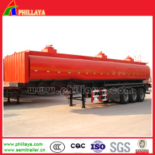 3 Axles 45000liters Truck Fuel Oil Chemical Tanker Semi Trailer