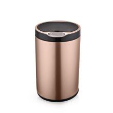 Mini trash can black 6L/9L intelligent induction bin stainless steel smart bin trash with sensor waste bin for sale