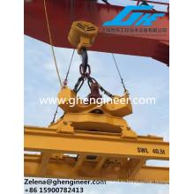 Высокопроизводительный гидравлический роторный телескопический разбрасыватель контейнеров