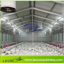 Leon series chicken feeding system poultry house system for poultry farm