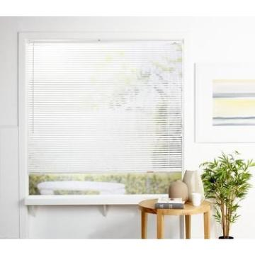 White 25mm Foam Wood Venetian Blind