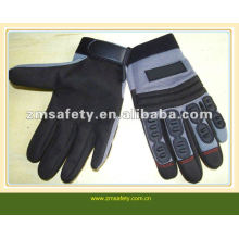 Rubber mechanic gloves with knuckle protectionJRM36
