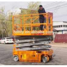 used car mini scissor lift for sale /small platform scissor lift china with ce