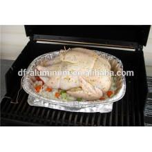 Food Grade Disposable Große Aluminiumfolie Hühnerbratpfanne