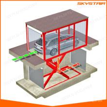 Electric auto car scissor lift