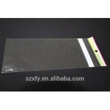Прозрачный полиэтиленовый пакет OPP с печатным заголовком