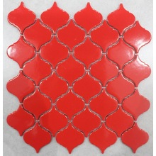 Red Color Lantern Design Porcelain Mosaic