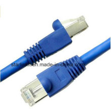 10g CAT6A Snagless Patch Cable with 50u RJ45 Blue