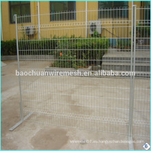 Soldada malla de malla de alambre / malla de alambre soldada de plástico / malla de alambre soldado 5x5 soldada