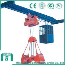 Grúa aérea de una sola viga de 3 a 5 toneladas con agarradera