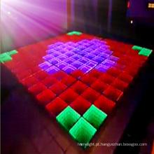 Vídeo novo e luz de painel ineteractive do salão de baile do diodo emissor de luz para o disco e o clube nocturno