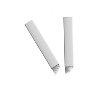 Disposable Stainless Steel Microblading Blade Microblading Needles
