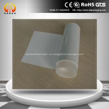 Película de liberación de PET recubierta de silicona