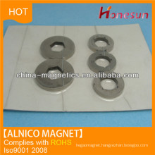 cast alnico big ring magnet with hole