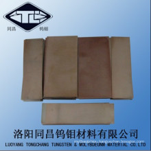 Mo-1 99.95% Molybdenum Plate (3mm Thickness) ASTM B386 Washed Surface
