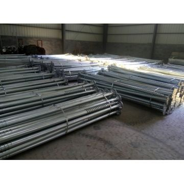 Helical Flanged Ground Screws Pile