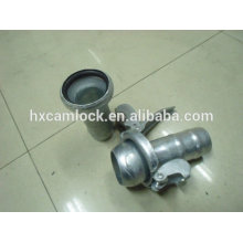 Galvanized carbon steel bauer coupling, Ball & Socket Style Couplings