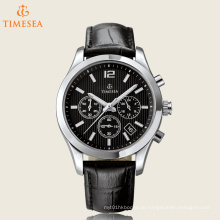 Hochwertige Quartz Steel Watch mit Leder Uhr 72440