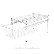 vivinature high quality Single Basket Organizer with wire drawer