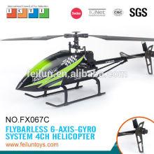 Feilun brinquedos 2.4G 4CH grande hélice única modelo rc helicóptero rc preço com CE/ROHS/FCC/ASTM