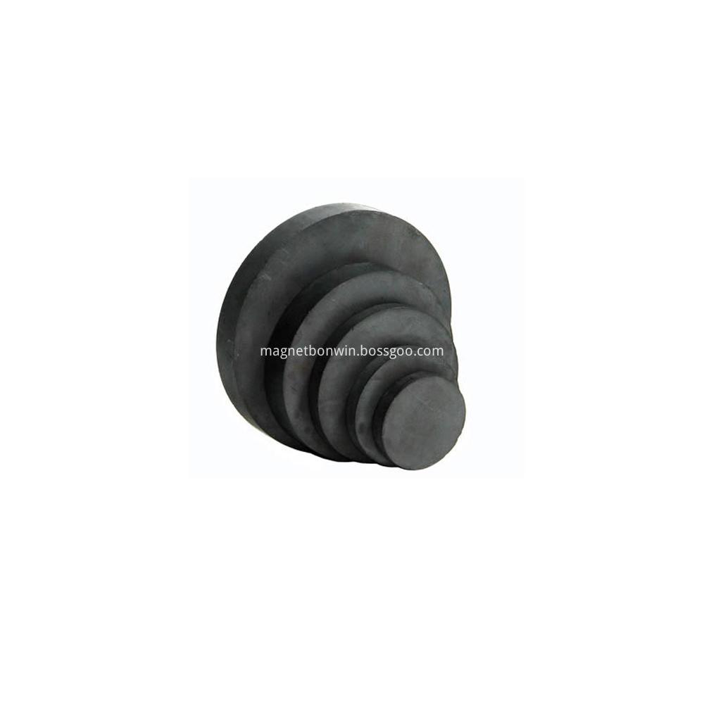 Y35 cylinder ferrite magnet