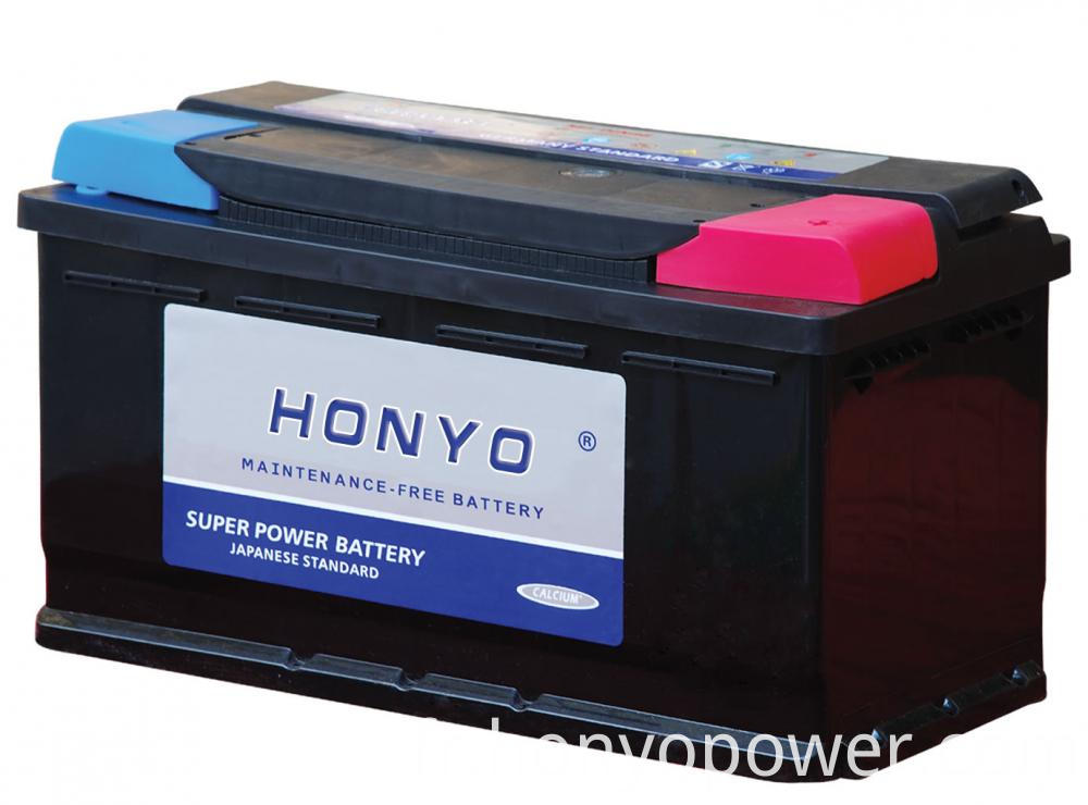 12V 66Ah DIN MF Car Batteries