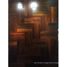 Nature Color Indonesia Rosewood Parquet Flooring