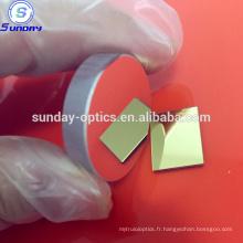 Miroir revêtu de métal optique en verre BK9