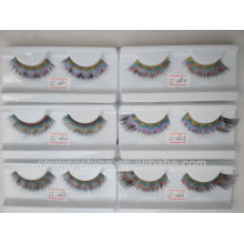 2016 hot design cheap three color false fake fashion diamond eyelashes