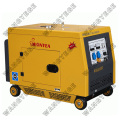 Diesel Generator with Electric Starting System, Large Muffler for Quiet Operation