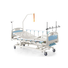 Four-Cranks Foot Seperately Tilting Manual Orthopedics Traction Bed