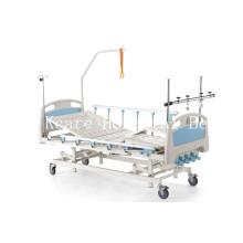 Pé de quatro pedúnculos, separadamente, inclinado, ortopedia manual, cama de tração